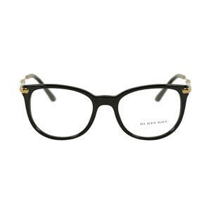 Burberry Black Square Glasses BE2255Q-3001-51