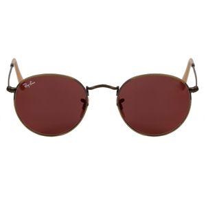 Ray-Ban Bronze Round Sunglasses RB3447-1672K-50