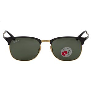 Ray-Ban Black Square Sunglasses RB3538-1879A-53
