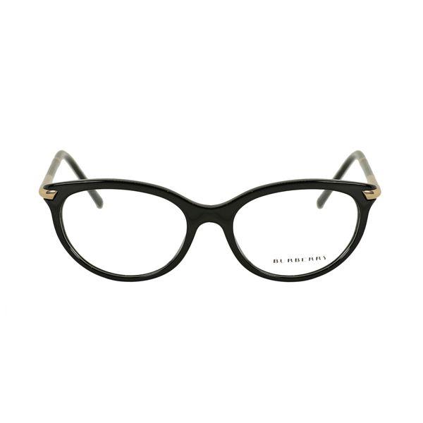 Burberry Black Round Glasses BE2177-3001-51