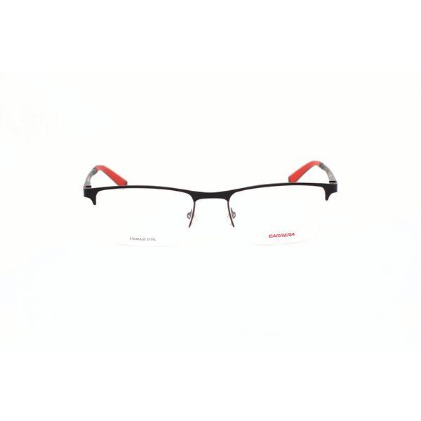 Carrera Matte Black Rectangle Glasses CA8810-YIH