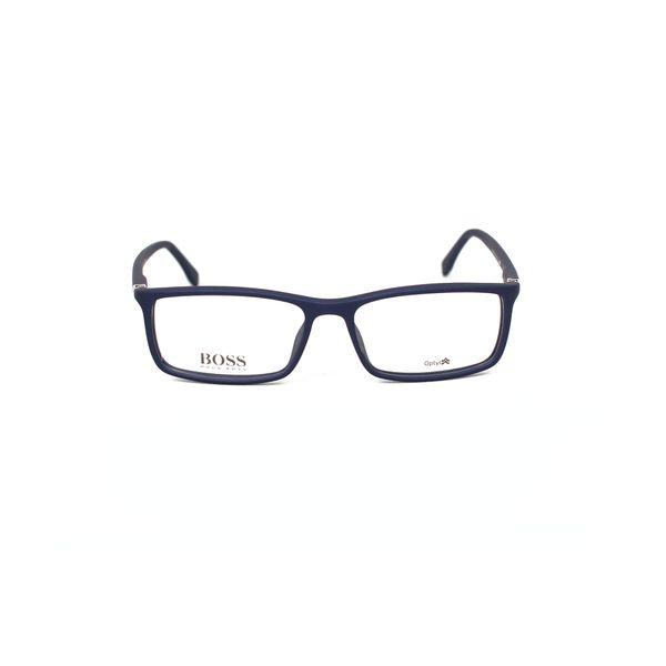 Boss Blue Rectangle Glasses 0680-V5Q