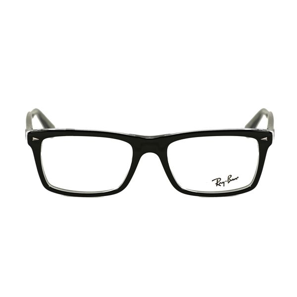Ray-Ban Black Square Glasses RX5287-2034-52