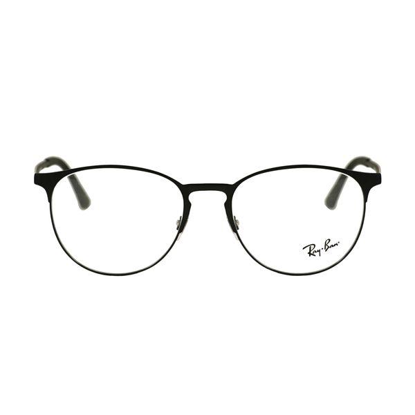 Ray-Ban Black Round Glasses RX6375-2944-53