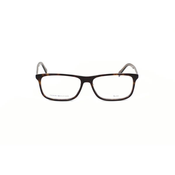 Tommy Hilfiger Tortoise Rectangle Glasses TH1452-A84