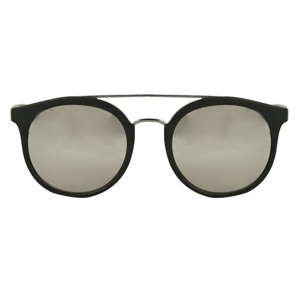 Burberry Matte Black Round Sunglasses BE4245-3464Z3-53
