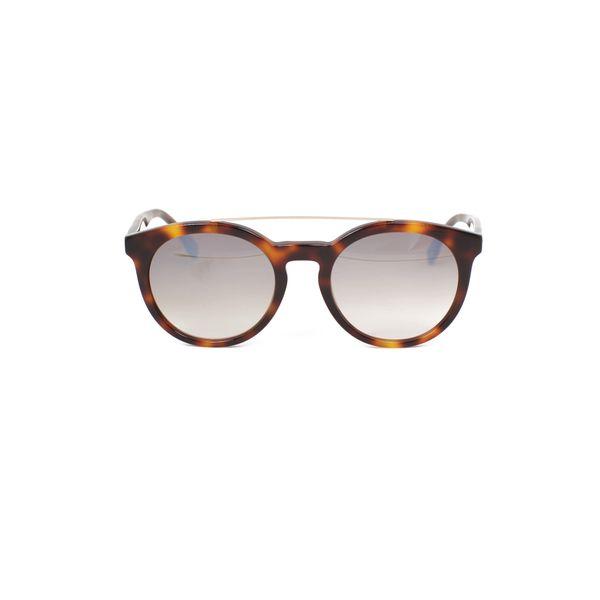 Lacoste Tortoise & Gold Round Sunglasses L821S-214