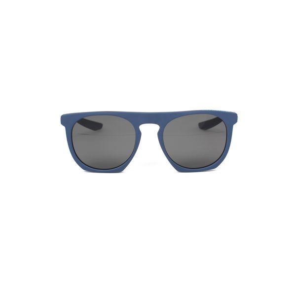 Nike Matte Blue Square Sunglasses EV0923-420