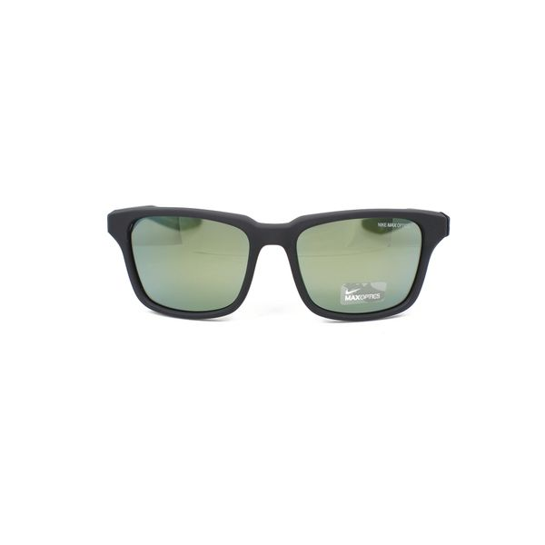 Nike Matte Black Rectangle Sunglasses EV1004-303