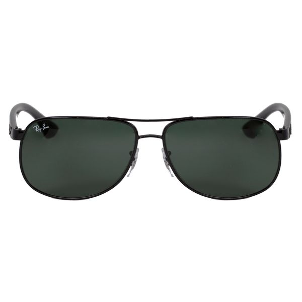 Ray-Ban Black Aviator Sunglasses RB3502-002-61