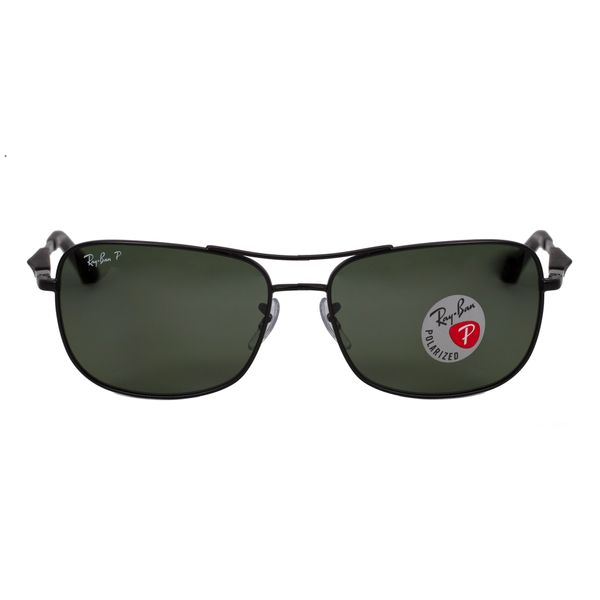 Ray-Ban Black Aviator Sunglasses RB3515-0069A-61