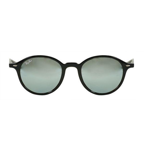 Ray-Ban Black Round Sunglasses RB4237-60130-50
