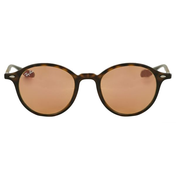 Ray-Ban Tortoise Round Sunglasses RB4237-894Z2-50