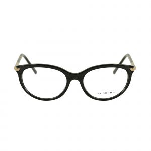 Burberry Black Round Glasses BE2177-3001-51