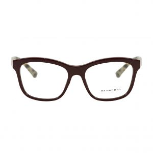 Burberry Red Rectangle Glasses BE2227-3602-54