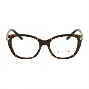 Bvlgari Tortoise Square Glasses BV4140B-504-52