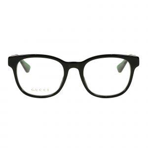 Gucci Black Round Glasses G0005O-006-53