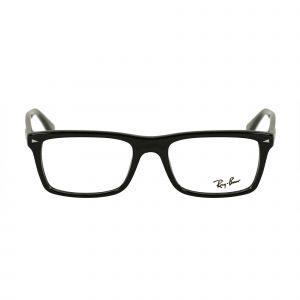 Ray-Ban Black Square Glasses RX5287-2000-52