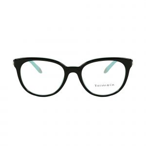 Tiffany Black Round Glasses TF2145-8055-52
