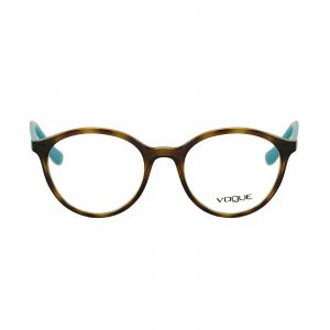 Vogue Tortoise Round Glasses VO5052-2393-51