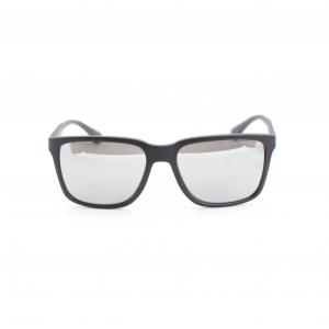 Emporio Armani Black Square Sunglasses EA4047-50636G-56