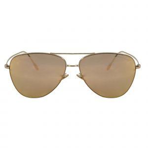 Giorgio Armani Bronze Aviator Sunglasses AR6049-30114Z-58