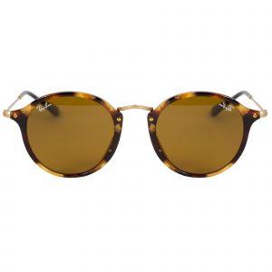Ray-Ban Tortoise Round Sunglasses RB2447-1160-49
