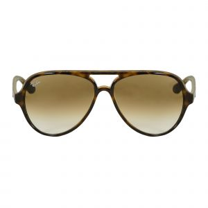 Ray-Ban Tortoise Aviator Sunglasses RB4125-71051-59