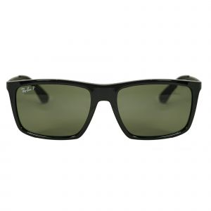 Ray-Ban Black Rectangle Sunglasses RB4228-6019A-58