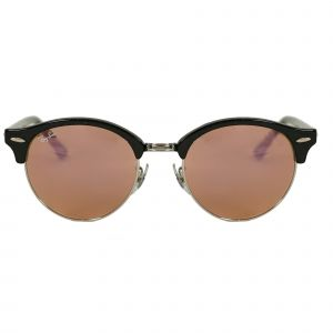 Ray-Ban Black Round Sunglasses RB4246-1197Z2-51