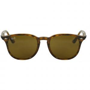 Ray-Ban Tortoise Round Sunglasses RB4259-71073-51