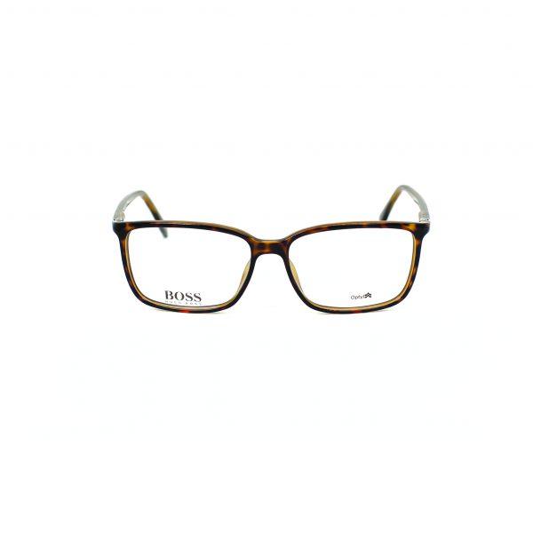 Boss Tortoise Rectangle Glasses 0679-DWJ
