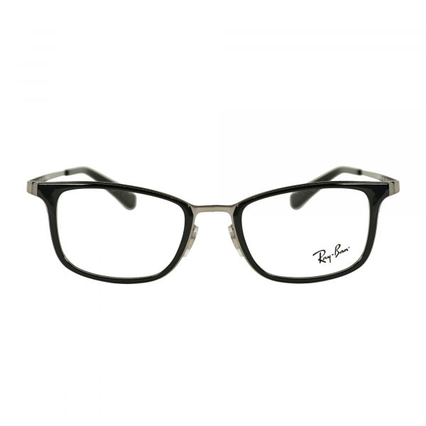 Ray-Ban Gray Round Glasses RX6373M-2502-52