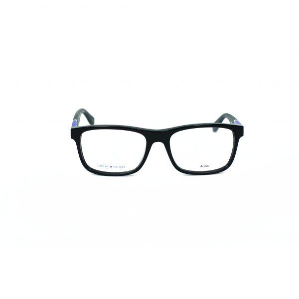 Tommy Hilfiger Black Square Glasses TH1282-FMV