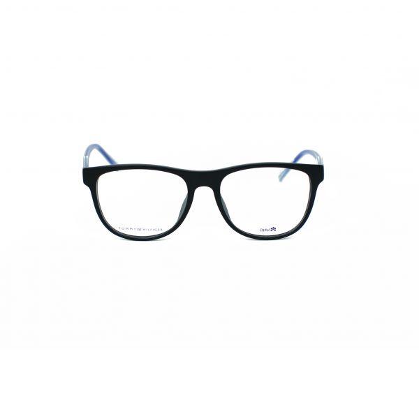 Tommy Hilfiger Matte Black Square Glasses TH1441-D4P