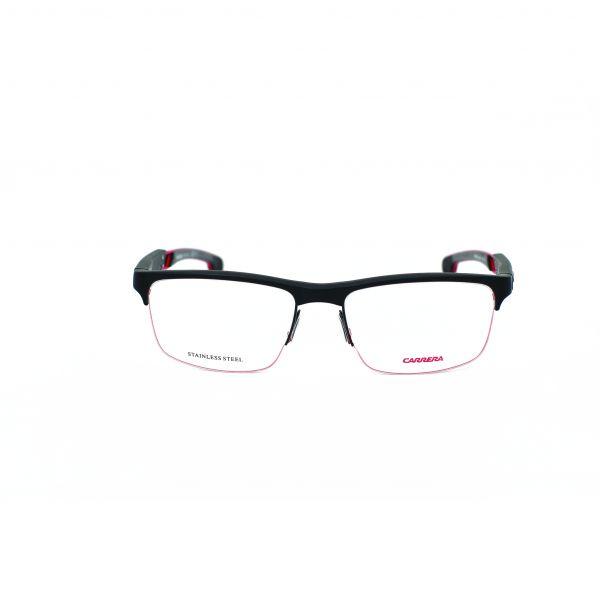 Carrera Matte Black Rectangle Glasses 4403V-003