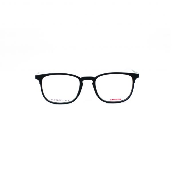 Carrera Matte Black Square Glasses CA6666-GTN