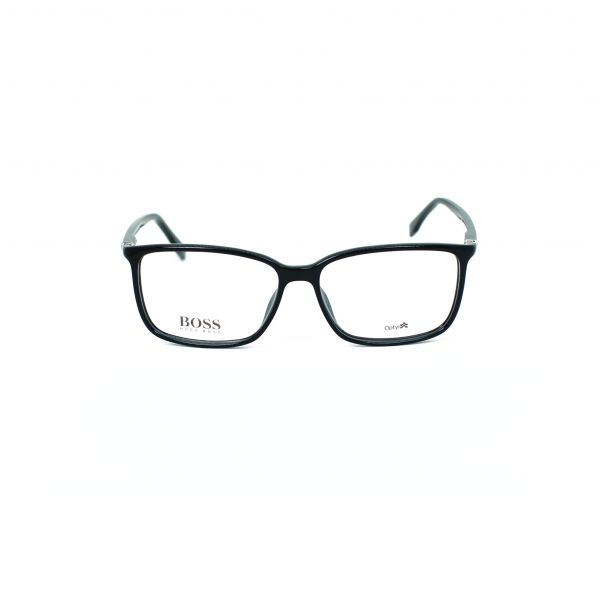 7b7aca7cf4bf Boss Black Rectangle Eyeglasses | Designer Frames | eyewa KSA