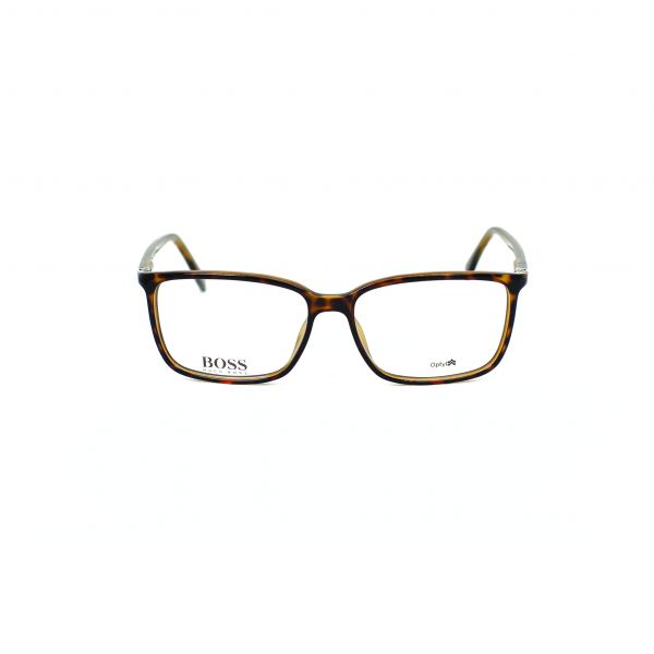 Boss Tortoise Rectangle Glasses 0679-DWJ