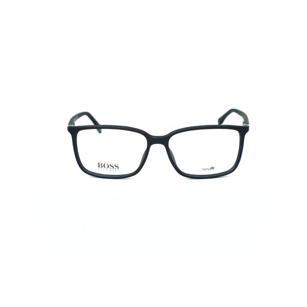 Boss Matte Black Rectangle Glasses 0679-V2Q