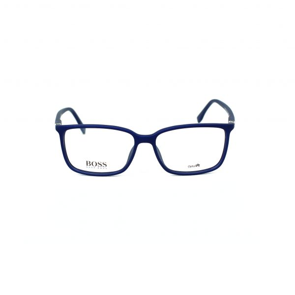 Boss Blue Rectangle Glasses 0679-V5Q
