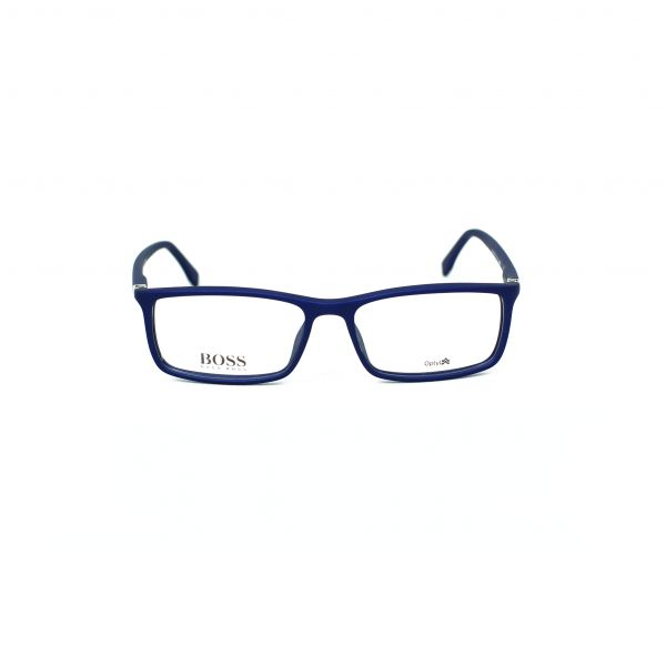 Boss Blue Rectangle Glasses 0680-V5Q