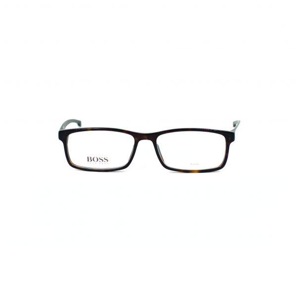Boss Tortoise Rectangle Glasses 0877-P0I