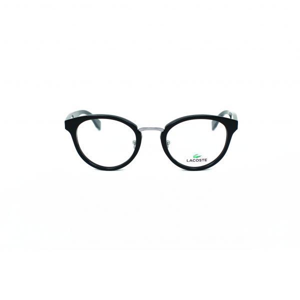 Lacoste Black & Silver Round glasses L2777-001
