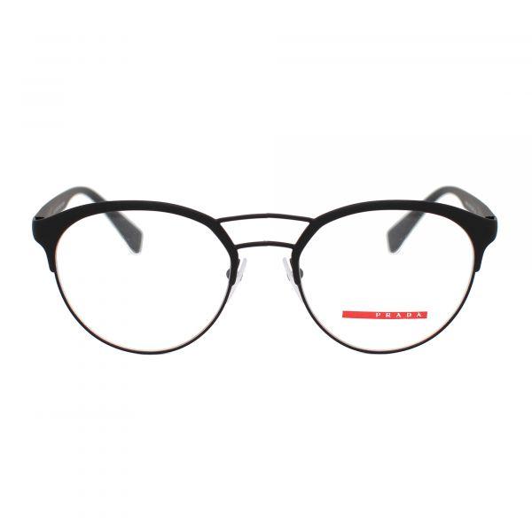 Prada Linea Rossa Black Round PS52HV-DG01O1-52