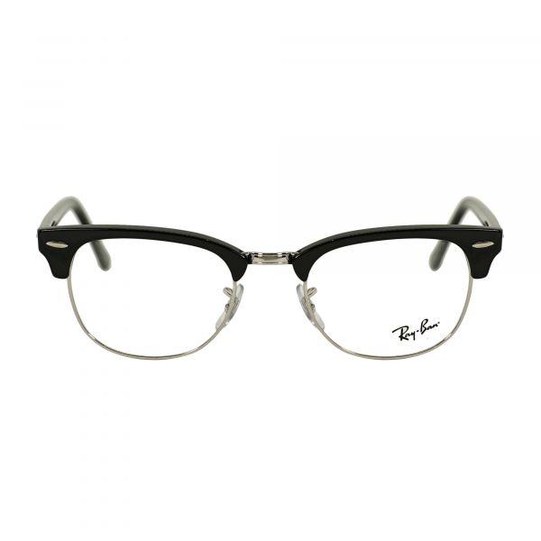 Ray-Ban Black Square Glasses RX5154-2000-51