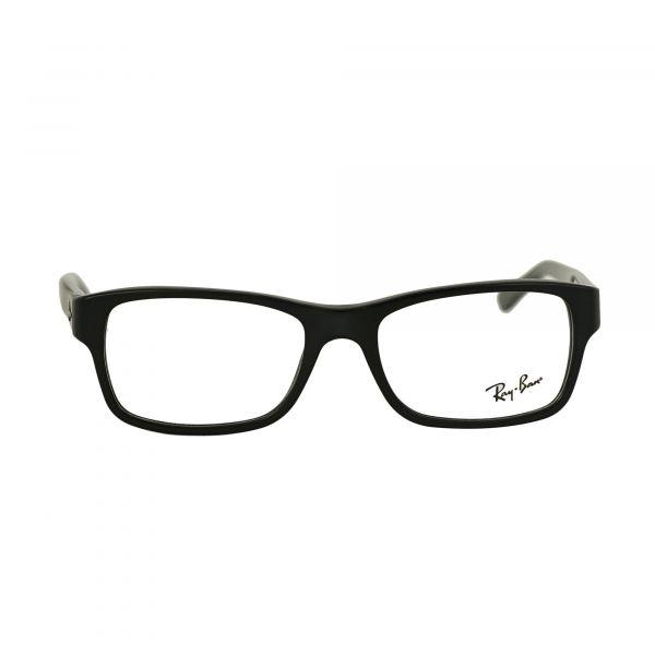 Ray-Ban Matte Black Rectangle Glasses RX5268-5119-52