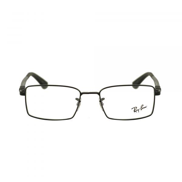 Ray-Ban Matte Black Rectangle Glasses RX6275-2503-52