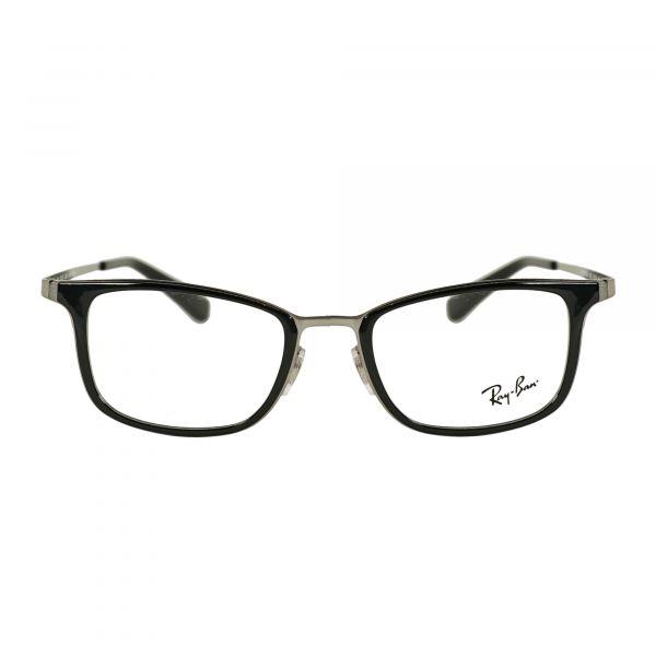 Ray-Ban Gray Round Glasses RX6373M-2502-52
