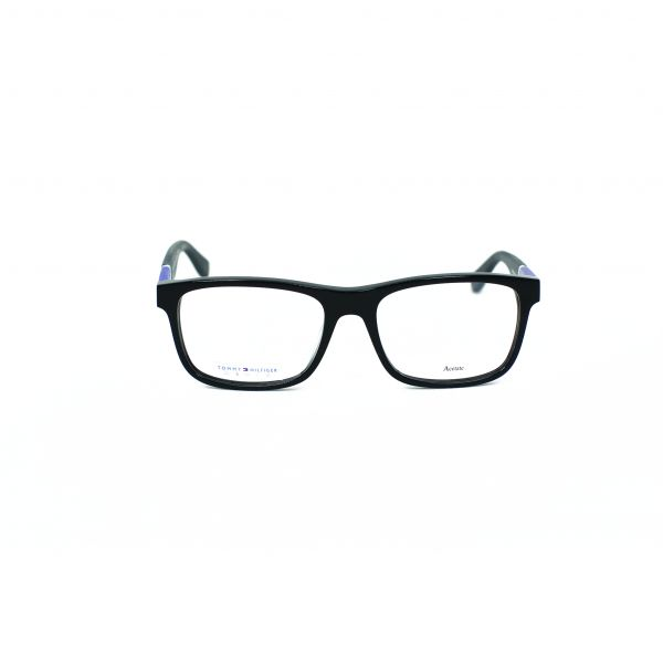 Tommy Hilfiger Black Square Glasses TH1282-FMV